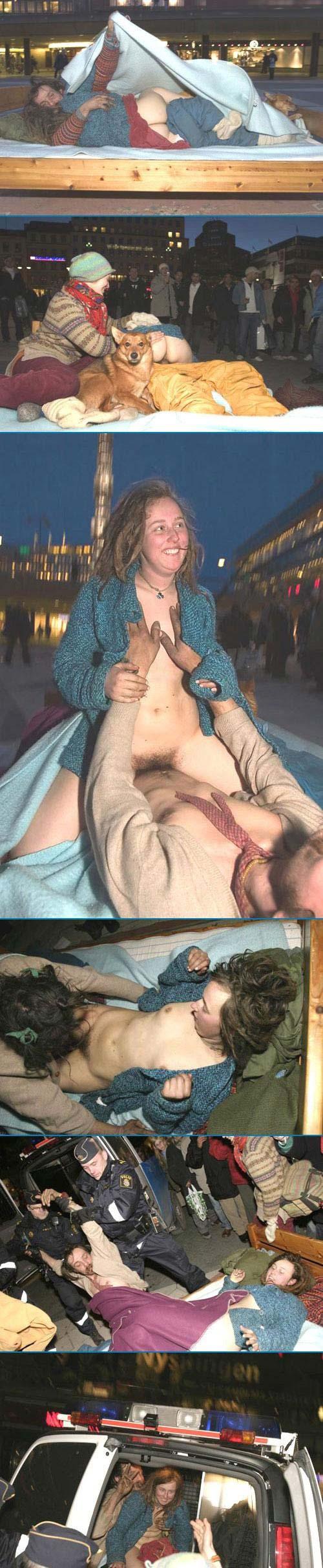 Levantamiento desnudo y llevar